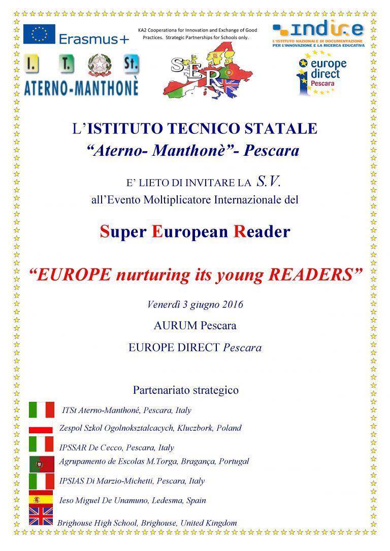 Pescara, studenti d'Europa all'Aurum per il progetto internazionale di lettura