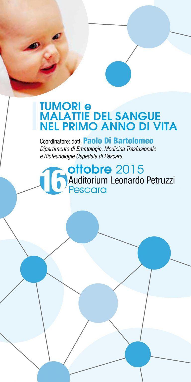 Pescara, convegno sui tumori infantili: le recenti ricerche sulle malattie del sangue