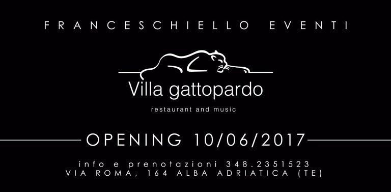 La tua estate al Gattopardo: apertura 10 giugno   Alba Adriatica