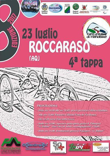 Roccaraso si tinge di rosa, domenica arriva il Giro d'Italia di Handbike
