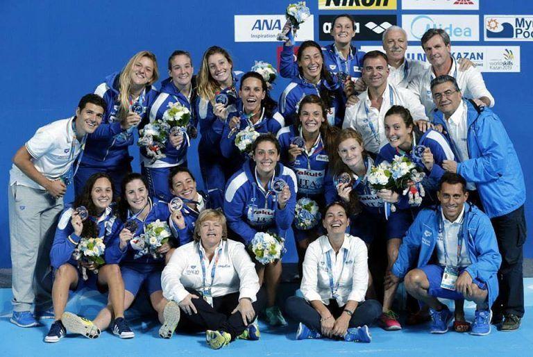 Mondiali Pallanuoto, Celano festeggia il bronzo del Settorosa