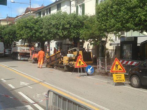 Giulianova, internet a singhiozzo: disagi dovuti alla fibra ottica?