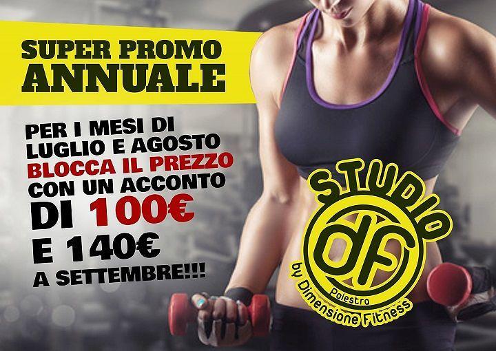 Super Promo annuale da Dimensione Fitness | Alba Adriatica