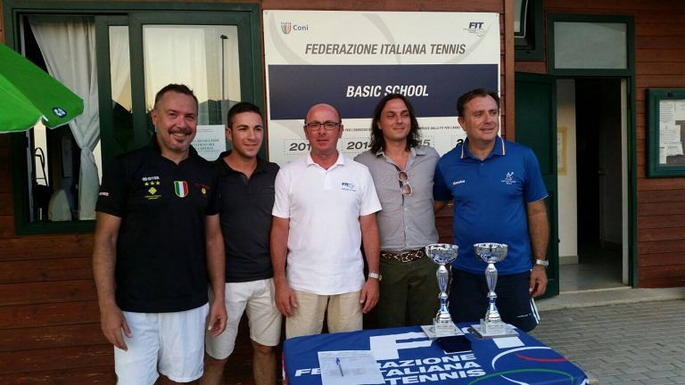 Torneo Nazionale Veterani e Giovanile 2016 all'ASD Circolo Tennis Silvi: i vincitori