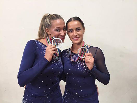 Giulianova, Debora Sbei seconda ai Campionati Mondiali di Pattinaggio a Novara