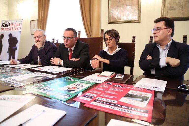 Pescara, torna il Premio Borsellino: Pignatone e Spataro tra i vincitori