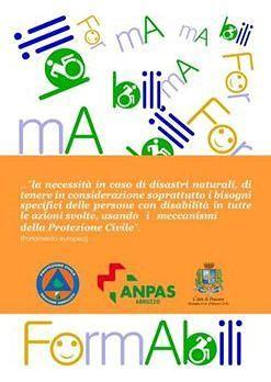 Pescara, la disabilità in situazioni di emergenza: seminario per i volontari di Protezione civile