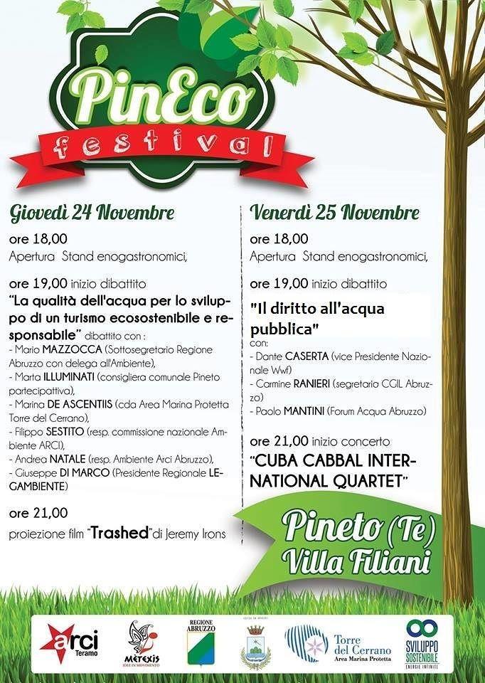 PinEco Festival, a Villa Filiani due giorni dedicati all'ecosostenibilità