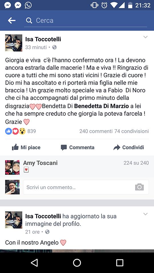 Hotel Rigopiano, i giuliesi Giorgia Galassi e Vincenzo Forti sono vivi