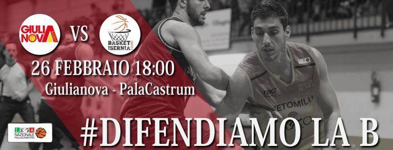 Basket, Giulianova alla riscossa: '#difendiamo la serie B'