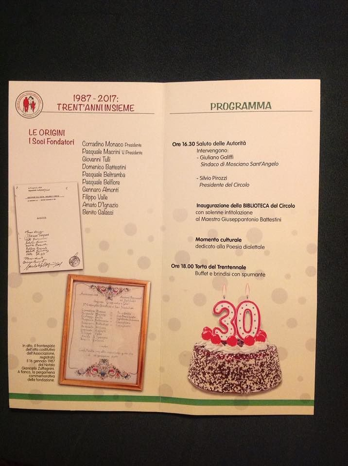 Mosciano, 30 anni del Circolo anziani: biblioteca intitolata a Giuseppantonio Battestini
