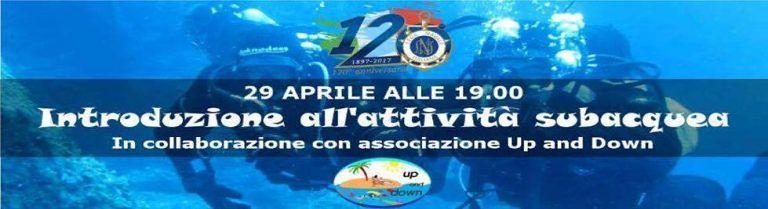 Giulianova, introduzione all'attività subacquea al Porto