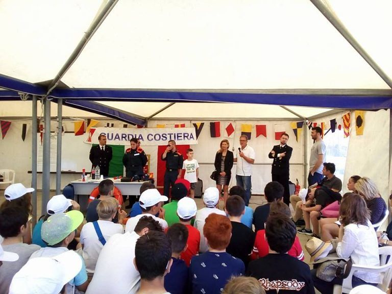 Pescara, Giornata sulla sicurezza in mare per ragazzi e operatori