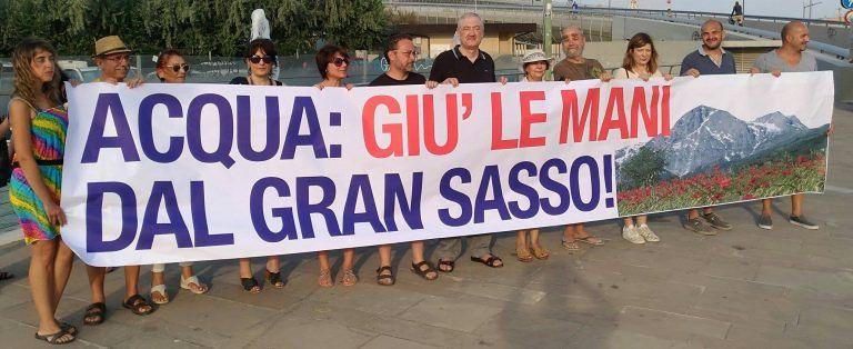 Acqua Gran Sasso, iniziative a Castelnuovo e Giulianova