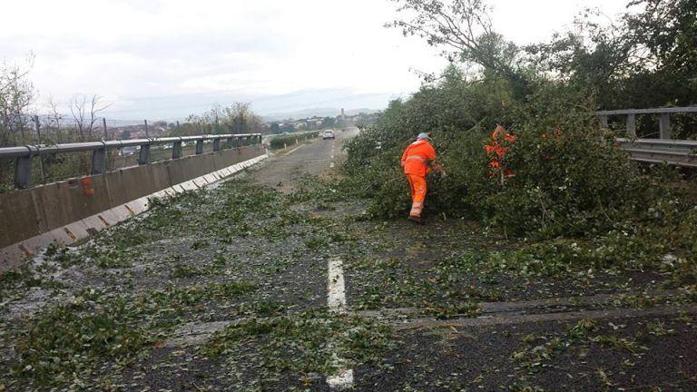 Pioggia, grandine e vento su Pescara e provincia: danni e disagi VIDEO FOTO