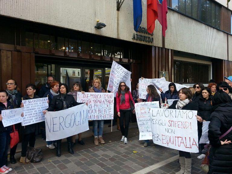 'Maiella e Morrone', i lavoratori chiedono trasparenza. Domani nuovo sit-in
