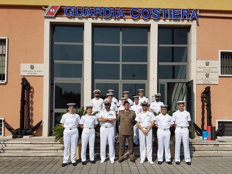 Pescara, Guardia Costiera: orientamento lavoro per giovani volontari