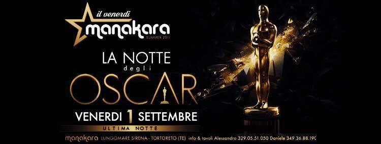 Manakara Beach Club: stasera 1 settembre ultima notte da Oscar  Tortoreto
