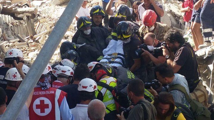 Terremoto, ospedale L'Aquila: altri sei feriti arrivati da Amatrice e Accumoli