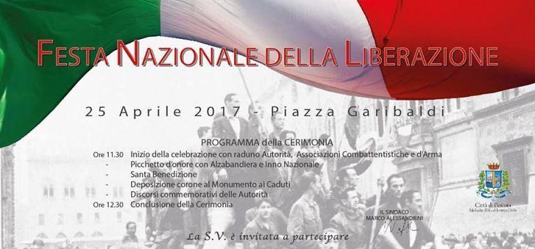 Pescara, Festa della Liberazione: tutti gli eventi