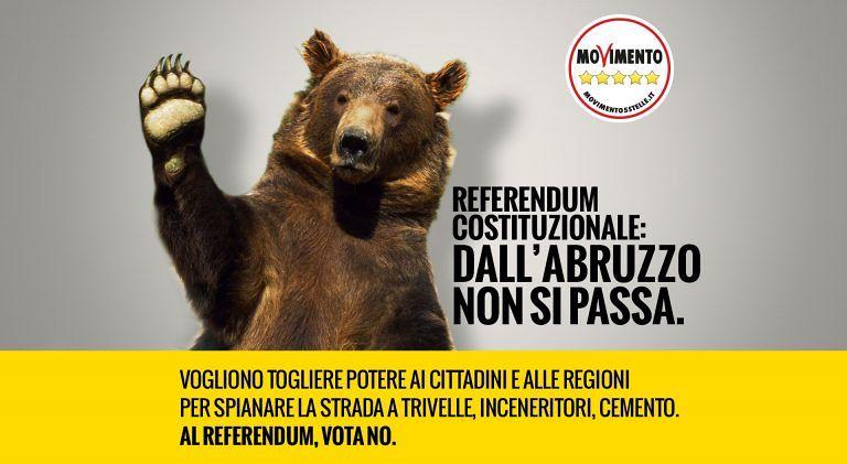 Nereto, referendum: arriva il camper #iodicono Abruzzo Tour del M5S