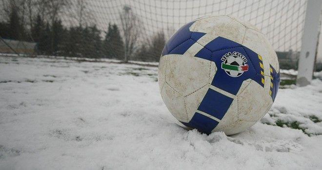 Neve e gelo: si ferma il calcio abruzzese dei dilettanti