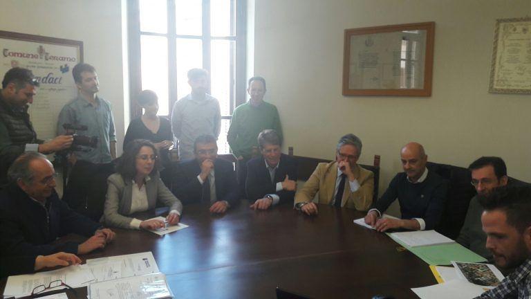 Teramo, firmata l'intesa Comune, UniTe e Adsu per la Casa dello Studente