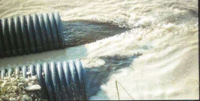 Acque nere nel fiume Vomano: presentato un esposto alla Procura di Teramo