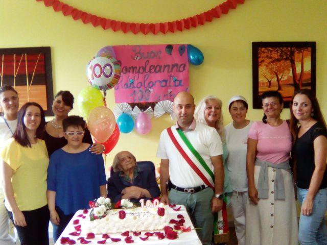 Addolorata Merloni compie 100 anni a Pennapiedimonte