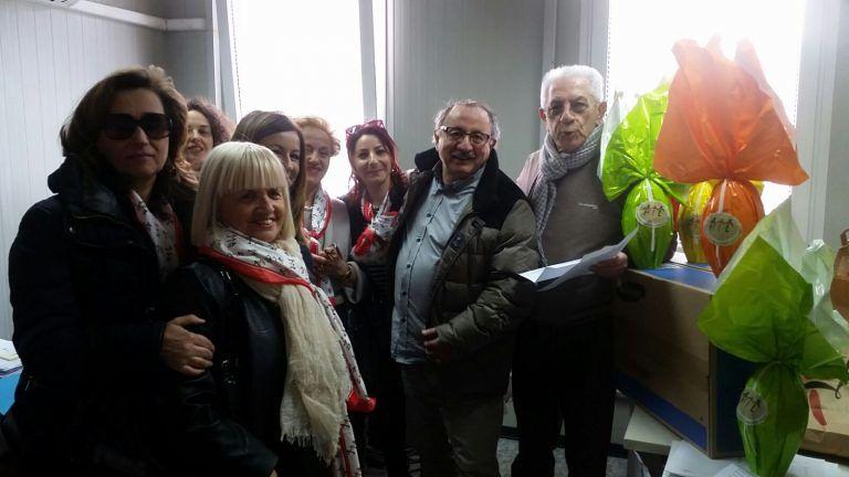 L'Ail Pescara-Teramo dona pc agli uffici di Arquata del Tronto