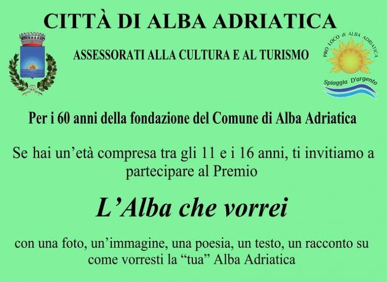 Alba Adriatica, concorso per gli studenti in vista del sessantennale