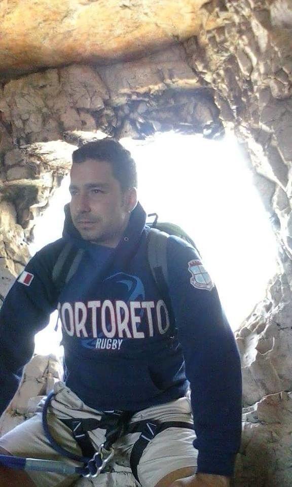 Tortoreto, oggi l'addio a Pinuccio Di Monte: il rugbista sempre sorridente
