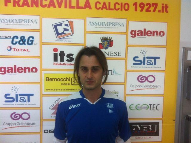 Il Francavilla Calcio ingaggia l'attaccante Andrea Miani
