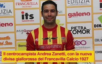 Andrea Zanetti è un calciatore del Francavilla Calcio