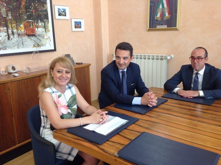 Montesilvano, l'ambasciatrice armena in visita al Comune
