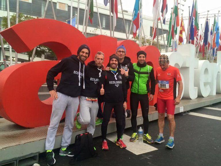 Ecologica G protagonista nelle maratone di Lisbona e Amsterdam