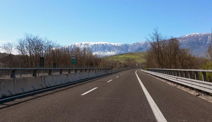 Emergenza neve, riaperta la strada provinciale Orsogna-Lanciano