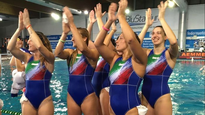 Pallanuoto, il Setterosa batte 15-5 la Francia ad Avezzano
