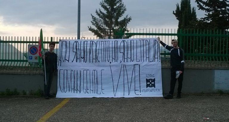 Teramo, Azione Studentesca ricorda Giovanni Gentile