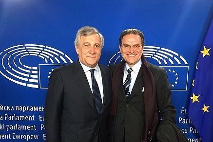 Terremoto, Tajani incontra Confindustria: 'Presto in Abruzzo'