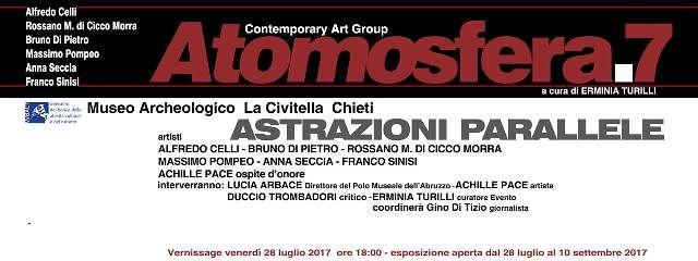 Chieti, al museo archeologico La Civitella la mostra Astrazioni parallele
