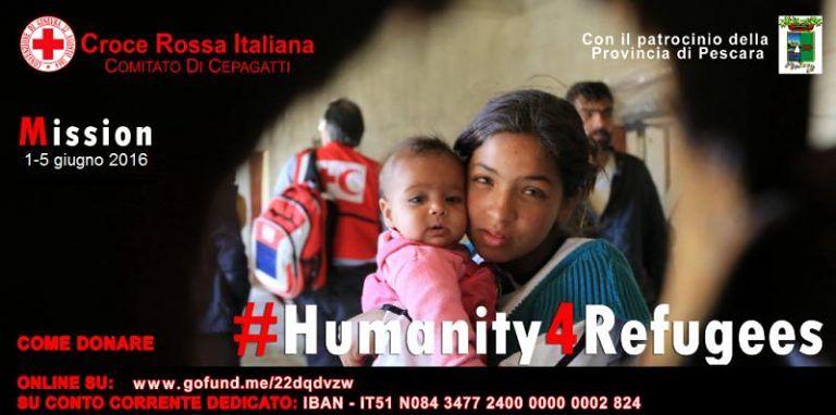 Cepagatti, donazioni per i rifugiati: cena di beneficenza