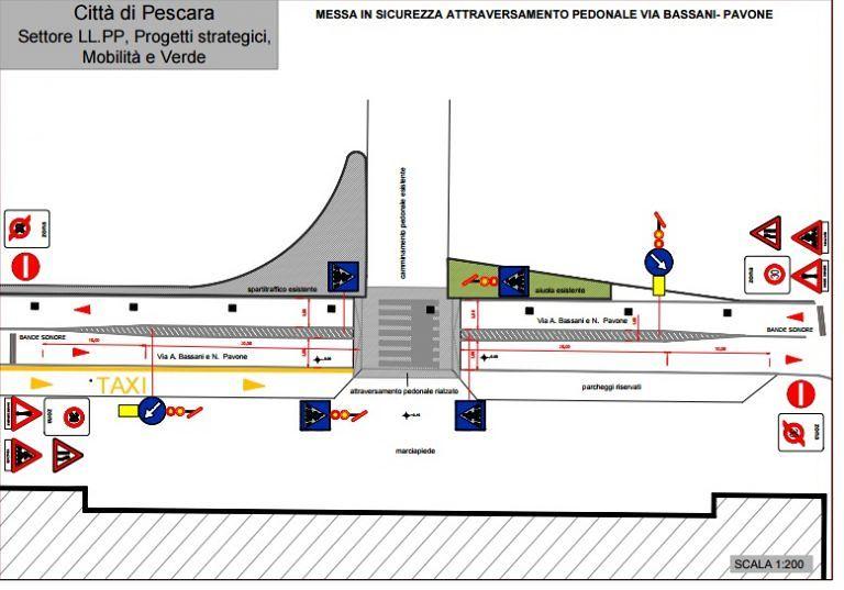 Pescara, accesso pedonale alla stazione: parte la messa in sicurezza