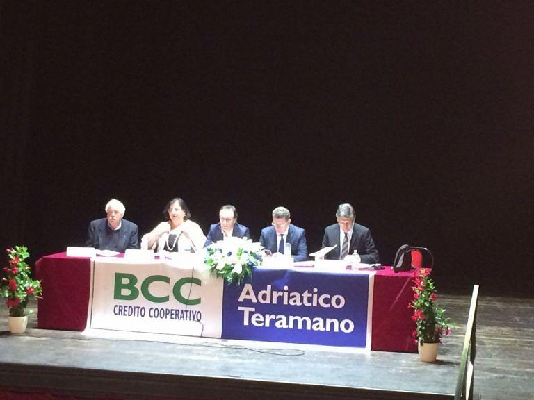 Credito, la Bcc Adriatico Teramano chiude bilancio con un utile superiore al milione