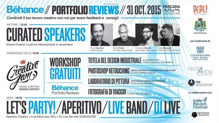 Pescara, contest di grafica: workshop gratuiti e una borsa di studio in palio