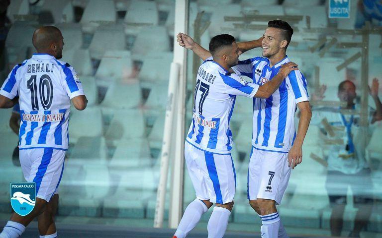 Pescara al pari del Napoli: buona la prima in Serie A