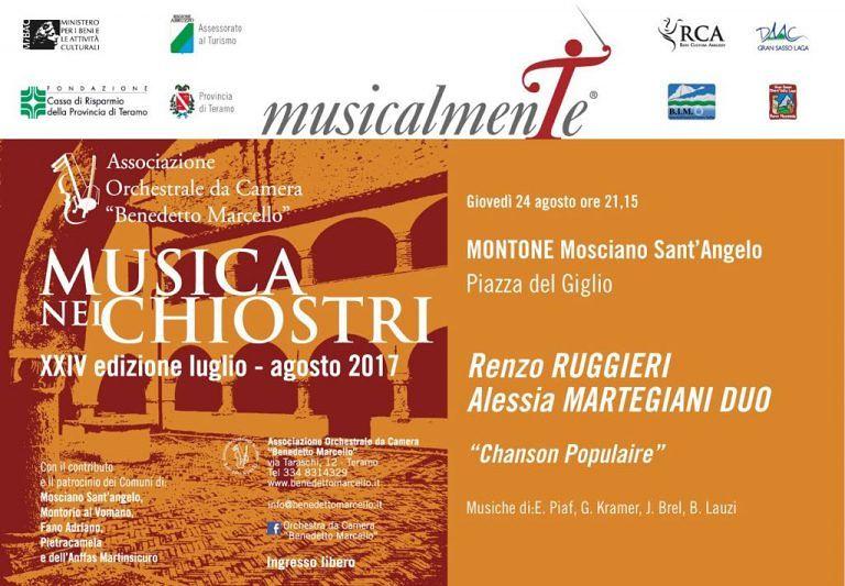 Mosciano, Tesori di Sera e Musica nei Chiostri alla scoperta del borgo di Montone