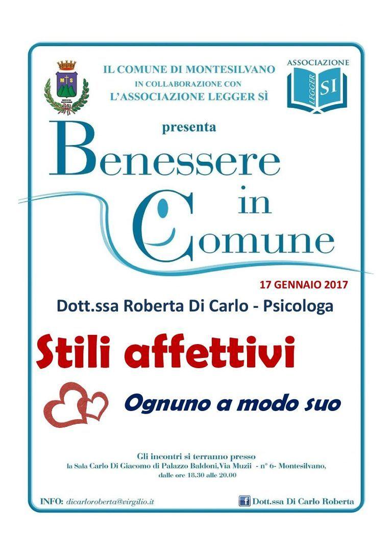 Montesilvano, Benessere in Comune: il seminario sull'affettività