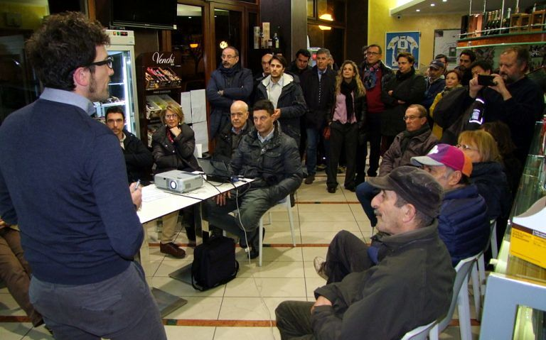 Pescara, progetto 'Bici in rete': l'incontro con i residenti di viale Muzii