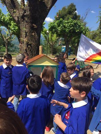 San Martino sulla Marrucina, book crossing progettato dai bambini delle scuole